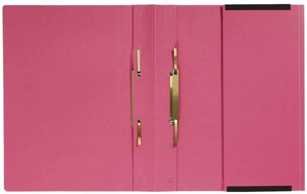 Kanzleihefter A gefalzt Rechtsheftung (kaufmännische Heftung), 1 Tasche, 2 Abheftvorrichtung, rot
