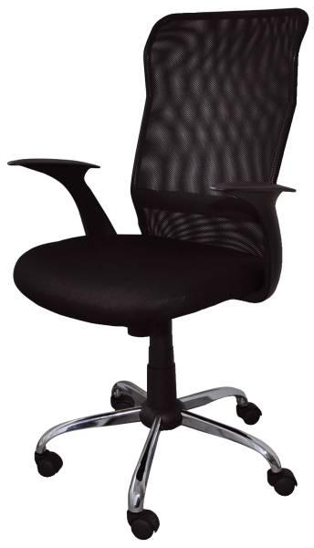 OFFICE PRODUCTS Drehstuhl Rhodos mit AL schwarz 23023321-05 Typ TILT