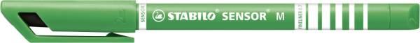 STABILO Feinliner Sensor M grün 187/36