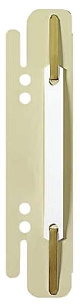 6130 Einsteck Heftstreifen, PVC, sand, 25 Stück