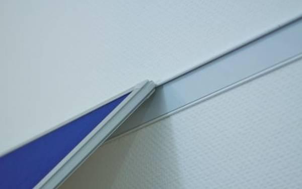 FRANKEN Magnetleiste 200x6cm silber WS8200