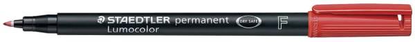 Feinschreiber Lumocolor Universalstift permanent, F, rot®