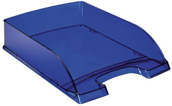5226 Briefkorb Transparent Plus, A4, Polystyrol, dunkelblau
