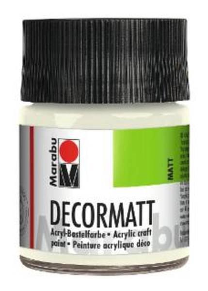 Decormatt Acryl, weiß 070, 50 ml