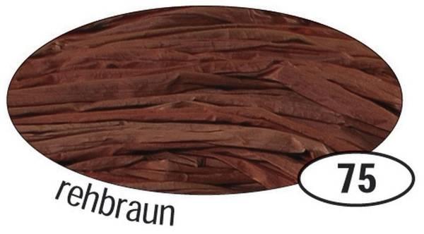 Naturbast Raffia matt, rehbraun, 50 g