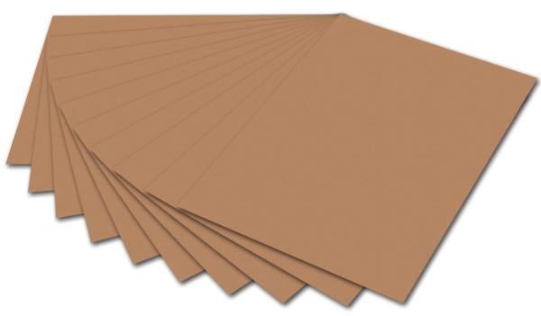 Tonpapier 50 x 70 cm, hellbraun