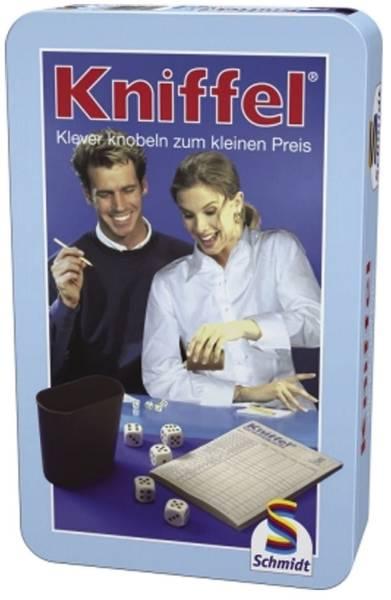 SCHMIDT Spiel Kniffel 51203 in Metalldose