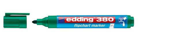 EDDING Flipchartmarker 380 1,5-3mm grün 4-380004 nachfüllbar Rundspitze