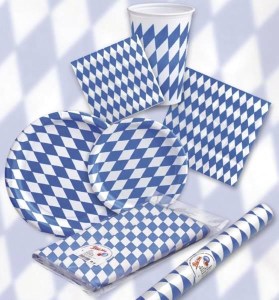 Motivserviette Bayernraute 33 x 33 cm, 20 Stück
