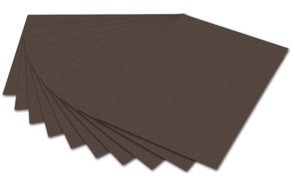 FOLIA Tonpapier 50x70cm dunkelbraun 6770 E 130g