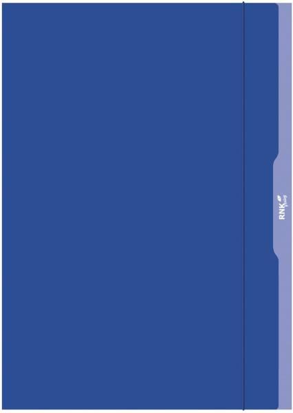 Gummizugmappe A3, blau