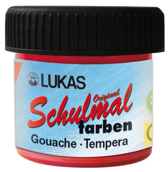 LACUFA Schulmalfarbe 18ml zinnoberrot K102020 Becher