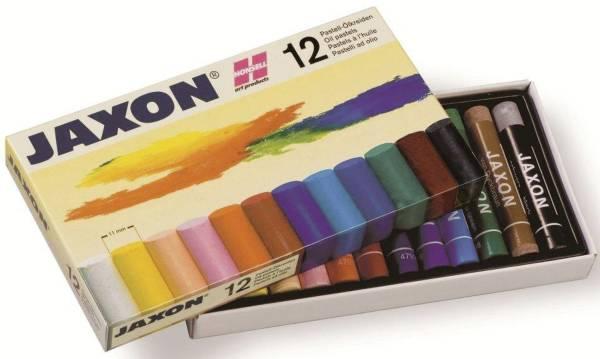 JAXON Pastell-Ölkreide sort. 47412 12er-Et