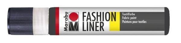Fashion Liner 073 Schwarz, 25 ml
