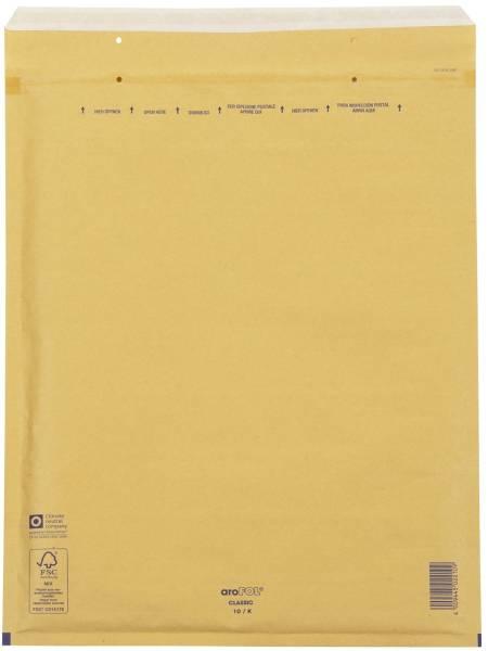 Luftpolstertaschen Nr 10, 350x470 mm, goldgelb braun, 50 Stück