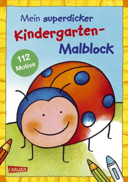 CARLSEN Malblock Kindergarten 118762