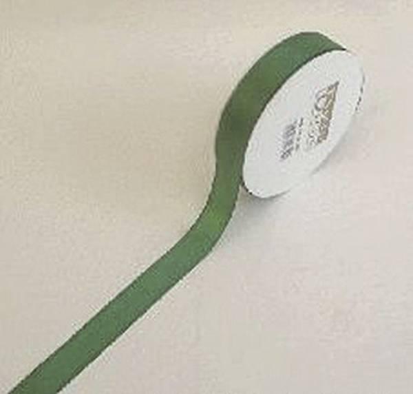 GOLDINA Basic Taftband 25mmx50m dgrün 8445025590050