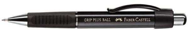 FABER CASTELL Kugelschreiber Grip Plus schwarz 140733 metallic