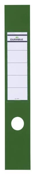 Rückenschilder ORDOFIX lang breit, grün, B10 Stück®