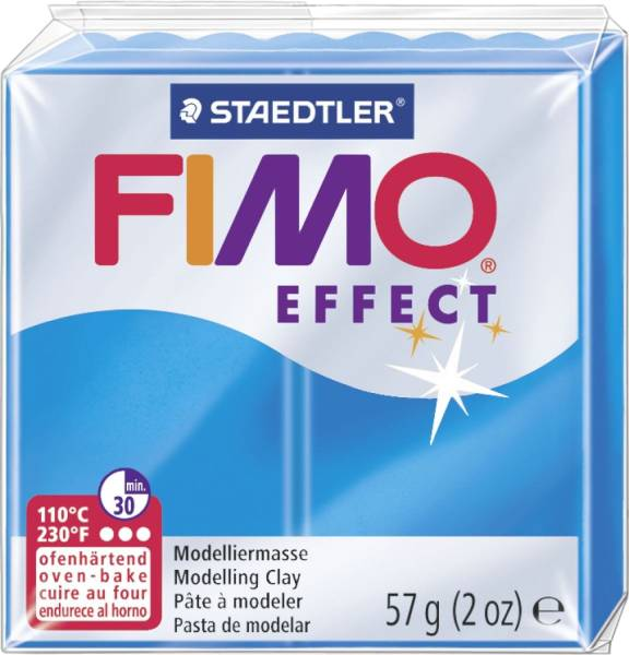 Modelliermasse FIMO soft 56 g, transparent blau®