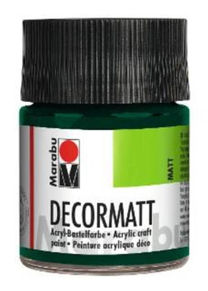 Decormatt Acryl, Tannengrün 075, 50 ml