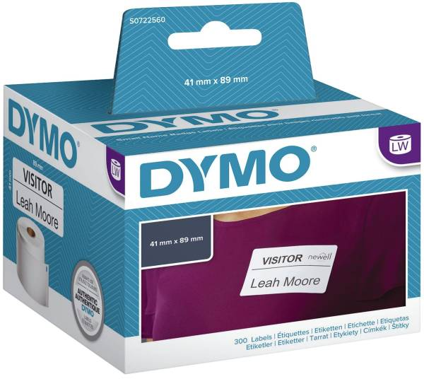 DYMO Etiketten Namenssch.41x89mm ws S0722560/11356 300ST ABL.