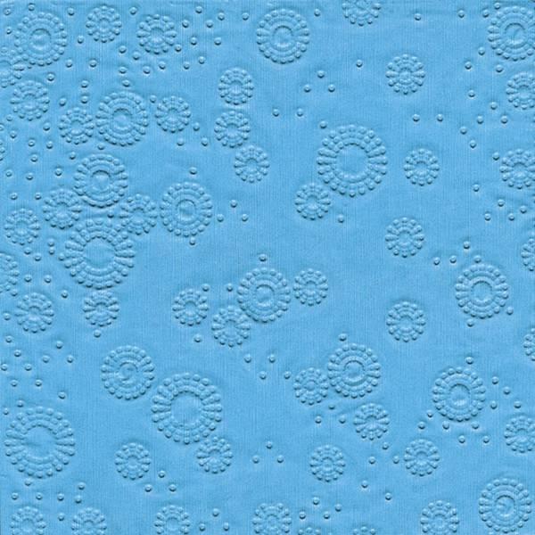 PAPER+DESIGN Serviette Zelltuch aqua 24014 33 cm