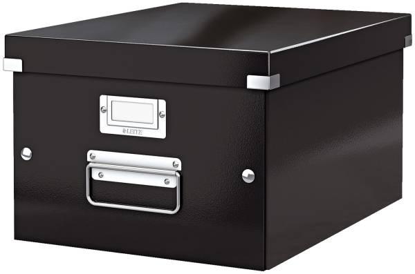 Archivbox WOW Click & Store für A4, schwarz