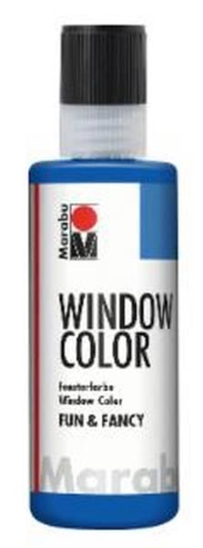 Window Color fun&fancy, Ultramarinblau 055, 80 ml