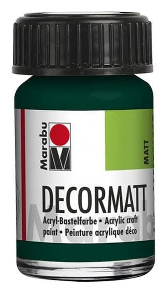 Decormatt Acryl, Tannengrün 075, 15 ml