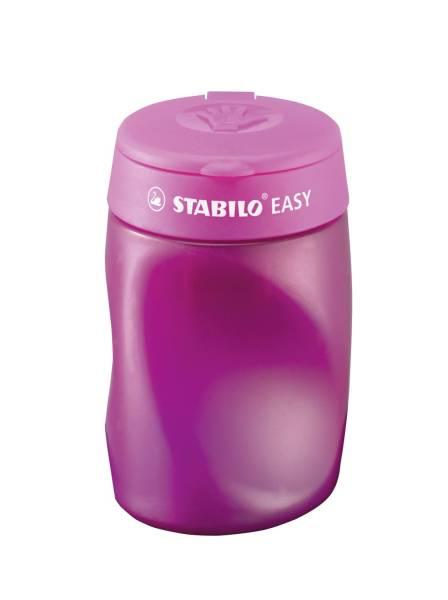 Ergonomischer Dosenspitzer 3 fach EASYsharpener, pink, L