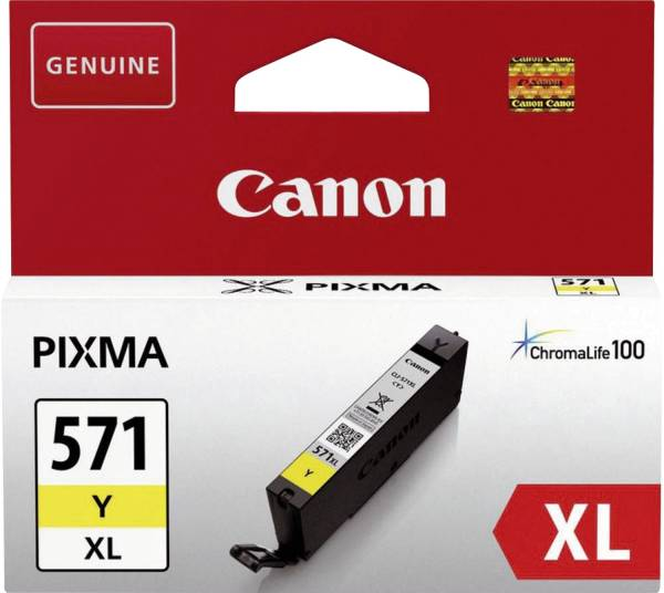 CANON Inkjetpatrone CLI-571Y XL yellow 0334C001