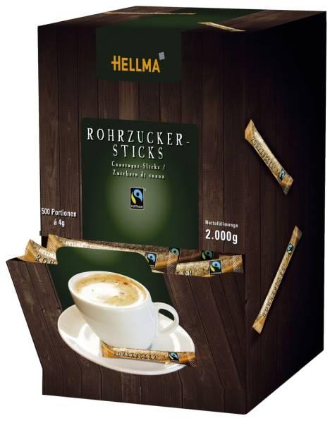 Rohrzucker FAIRTRADE Sticks 500 Portionen à 4 g
