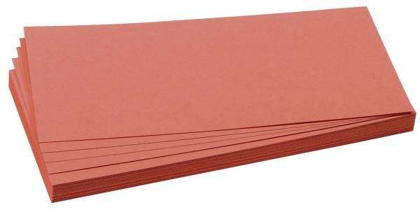 Moderationskarte, Rechteck, 205 x 95 mm, rot, 500 Stück