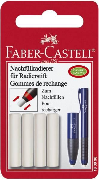 Ersatzradierer Eraser Pen, Kunststoff, auf Blisterkarte