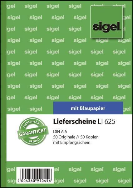 SIGEL Lieferscheinbuch A6/2x50BL Li625