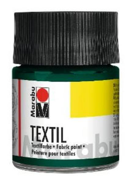 MARABU Textilfarbe dunkelgrün 1716 05 068 50ml