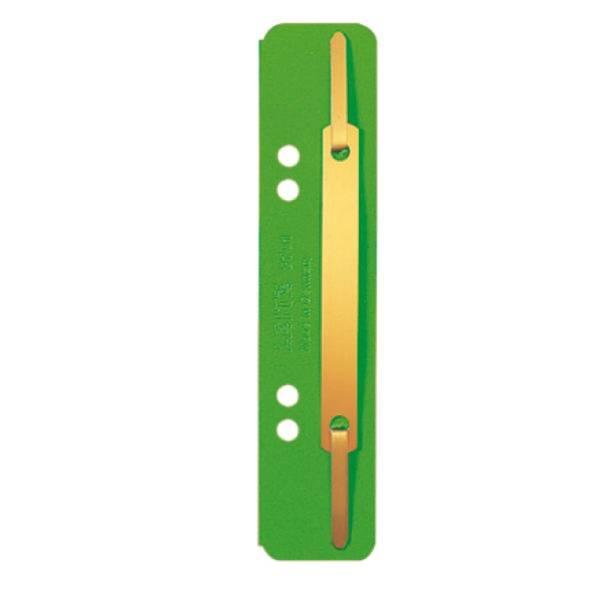 LEITZ Heftstreifen Karton kurz grün 3701-00-55 25ST