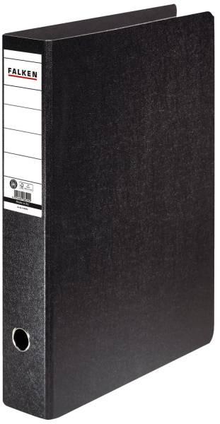 Ordner A3 hoch, 80mm, Hartpappe, schwarz