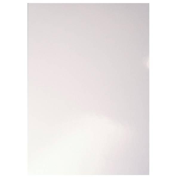 Einbanddeckel glänzend A4 weiß