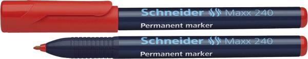 SCHNEIDER Marker 240 1-2mm rot SN124002