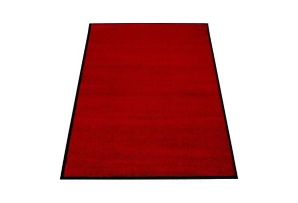Eazycare Schmutzfangmatte für Innen, 120 x 180 cm, weinrot, waschbar