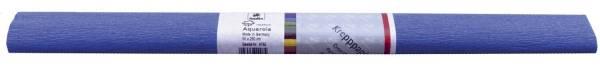 Krepppapier AQUAROLA 50 x 250 cm dunkelblau