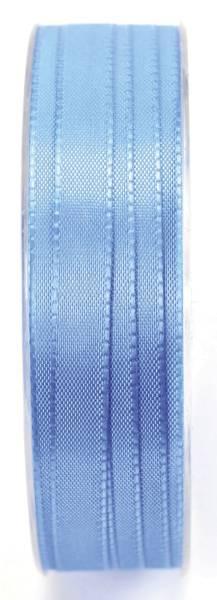 Basic Taftband 10 mm x 50 m, hellblau