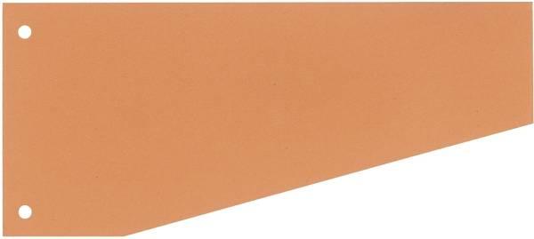 Trennstreifen Trapez 190 g qm Karton, orange, 100 Stück