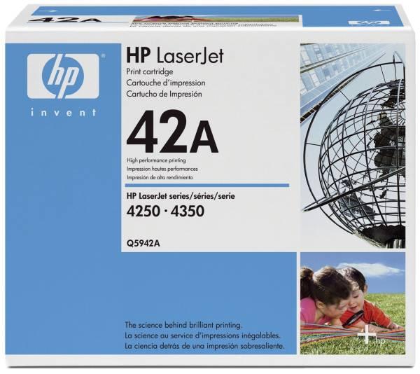 HP Lasertoner Nr. 42A schwarz Q5942A
