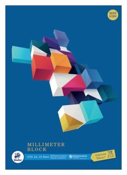 EDITION DÜRER Millimeterpapierblock A4 25BL 036700014
