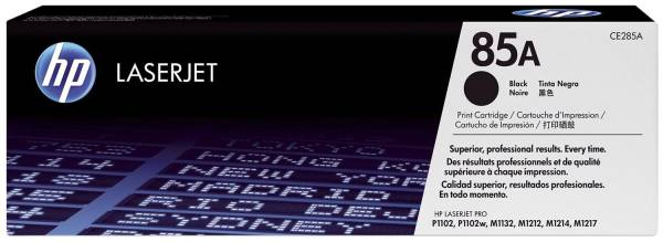 HP Lasertoner Nr. 85A schwarz CE285A