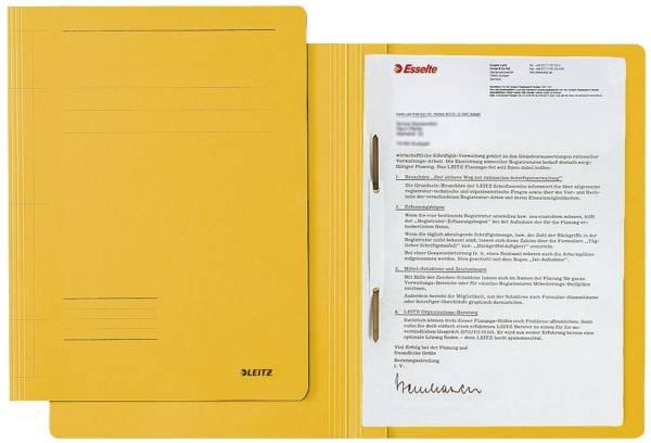 3003 Schnellhefter Fresh A4, Pendarec Karton (RC), gelb