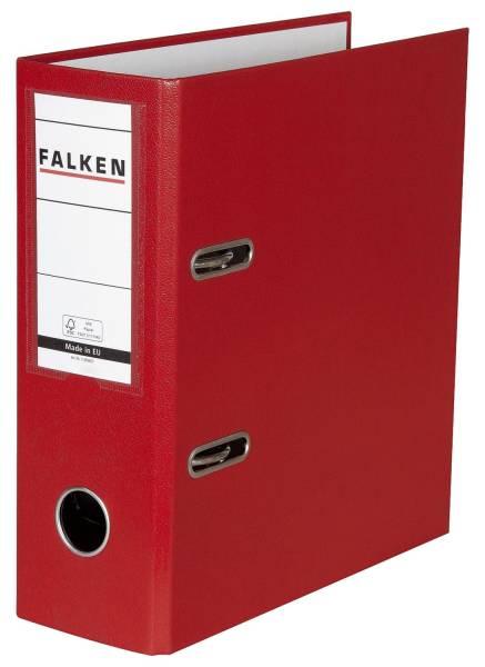 Ordner A5 hoch, 80mm, PP Folie, rot